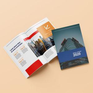 Brochures (in de rug geniet)